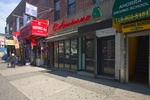 Jackson Heights, Queens: High Traffic Multi Level Vented Retail Space with 2nd Floor, Basement & Parking Space